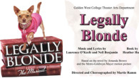 The Golden West College Theater Arts department has assembled an energetic, talented cast to star in their upcoming production LEGALLY BLONDE, The Musical. Performance dates are May 3 &#8211; 12...
