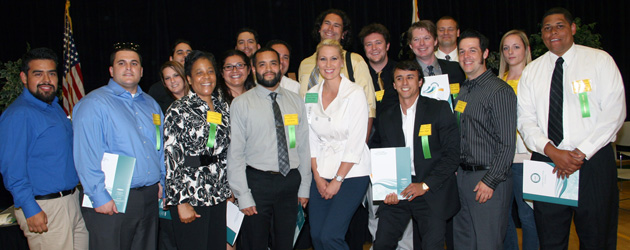 Golden West College held its annual Scholarships and Awards Ceremony on Tuesday, May 7, 2013. Although the rainy weather moved the event from the outdoor amphitheater to the Gym, the...