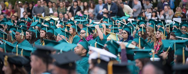 On Thursday, May 25th, 2017, Golden West College hosted its 50th commencement ceremony in the school's central quad.