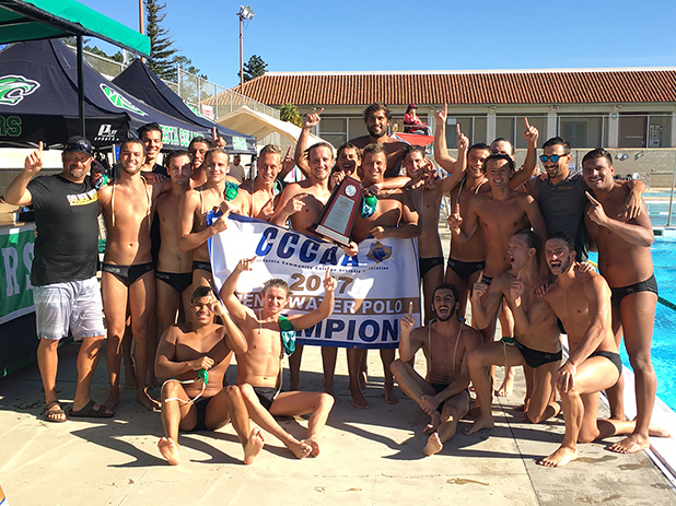 2017 Men's Water Polo State Champions