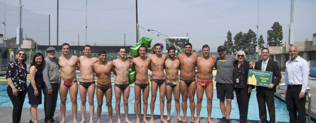 It was business as usual on the pool deck, early Monday morning, with GWC Coach Scott Taylor working with his water polo players. Little did Taylor know the group of […]