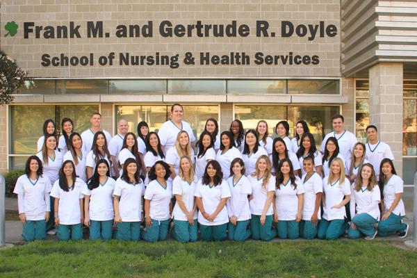 GWC School of Nursing Spring 2018 Class