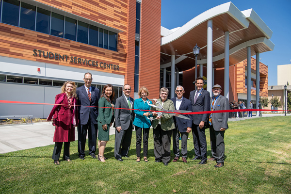 Student Services Center Opening