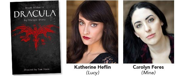 Congratulations to Golden West College actresses Katherine Heflin and Carolyn Feres for being named nominees for the Kennedy Center/American College Theater Festival (ACTF) Irene Ryan Acting Scholarships