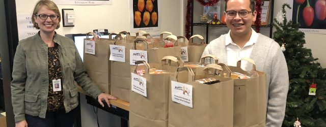 "Jill Kiefer, GWC Student Services and Salvador Cerda-Rodriguez, GWC Student Equity, pack Thanksgiving bags at GWC's food Pantry ""The Stand"".   Thanksgiving is a time when most of us gather […]"