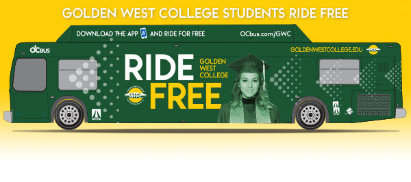 Golden West College Offers Free OCTA Bus Travel to All Enrolled Students