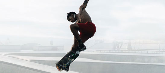 """The GWC Art Gallery is pleased to present a monumental exhibition exploring the art and culture of skateboarding with """"Skate 