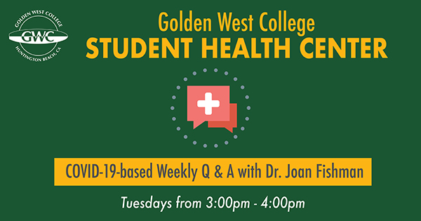 Student Health Center COVID-19 Q & A Sessions