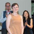 """President Wes Bryan awarded the prestigious Charlie Sianez Exceptional Service Award to Associate Professor Sacha Moore at the Staff Appreciation Breakfast on May 18. He described Moore as a """"one-woman […]"""
